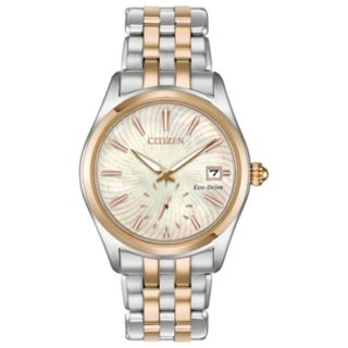Citizen Eco-Drive Women's Corso Two Tone Stainless Steel Watch - EV1036-51Y
