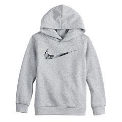 Boys 4-7 Nike Camo Swoosh Logo Pullover Hoodie