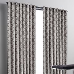 Simply Vera Vera Wang Geometric 1-panel Chenille Window Curtain