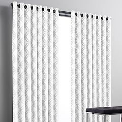 Simply Vera Vera Wang Geometric 1-panel Chenille Window Curtain