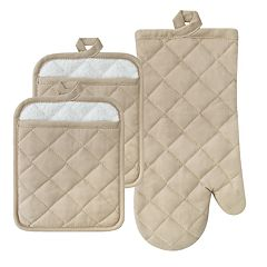 The Big One® Solid Pot Holder & Oven Mitt Set