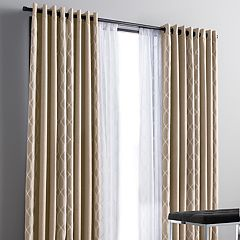 Simply Vera Vera Wang Sand Racking 1-panel Blackout Window Curtain