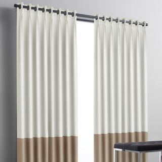 Simply Vera Vera Wang Colorblock 1-panel Blackout Window Curtain