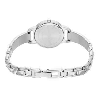 Citizen Women's Crystal Stainless Steel Half Bangle Watch - EZ6370-56X