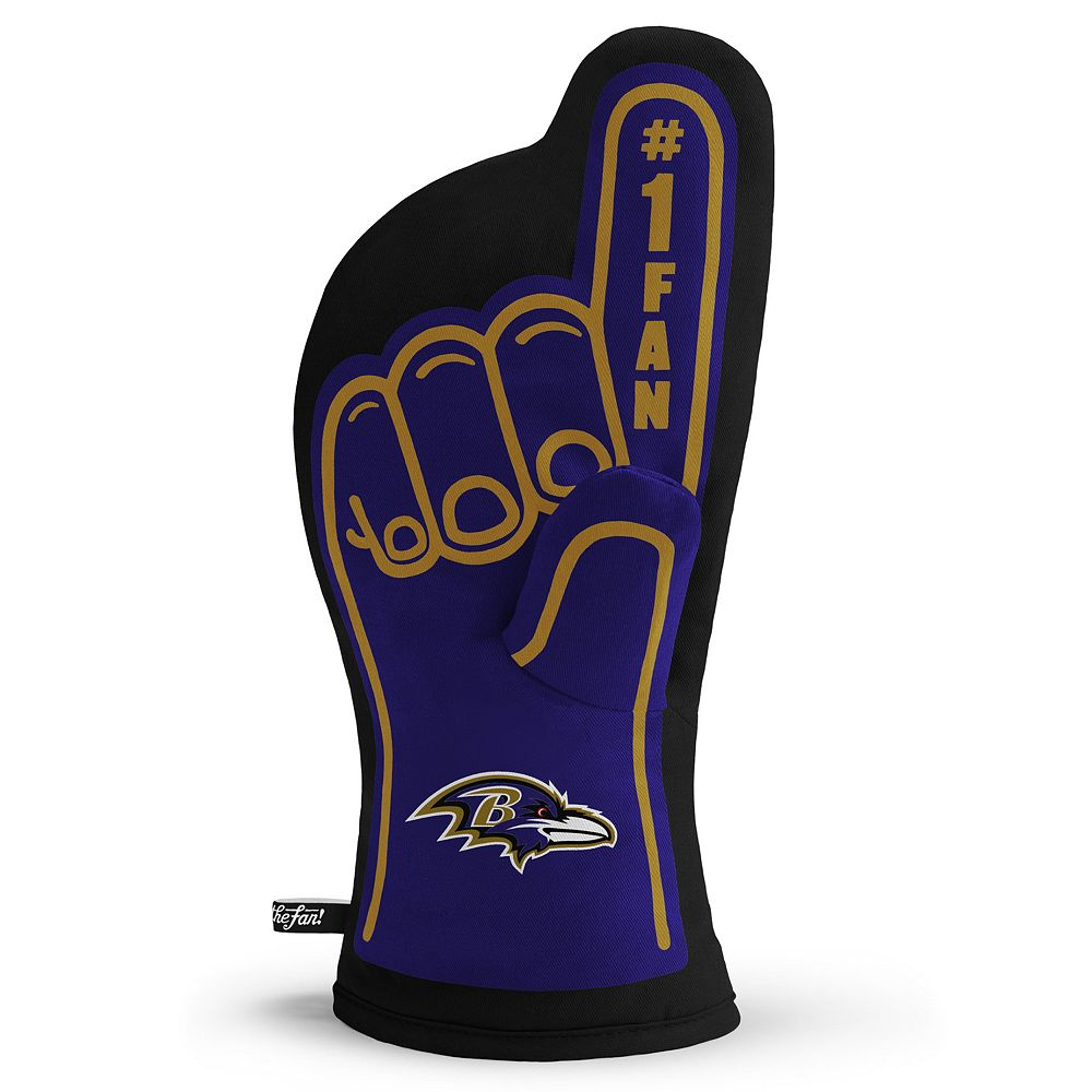 Baltimore Ravens Number One Fan Oven Mitt