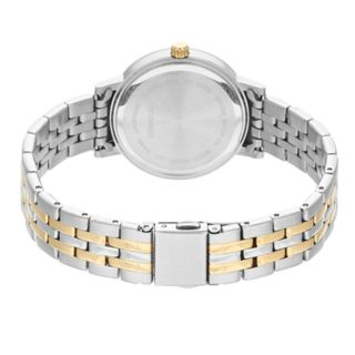 Citizen Women's Crystal Two Tone Stainless Steel Watch - EL3044-89D