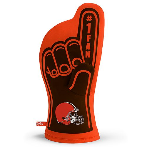 Cleveland Browns Number One Fan Oven Mitt
