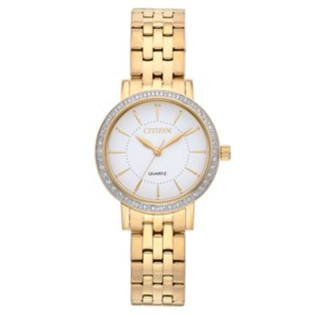 Citizen Women's Crystal Stainless Steel Watch - EL3042-84A
