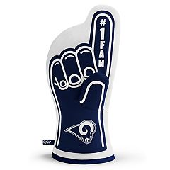 Los Angeles Rams Number One Fan Oven Mitt