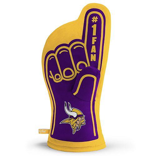 Minnesota Vikings Number One Fan Oven Mitt