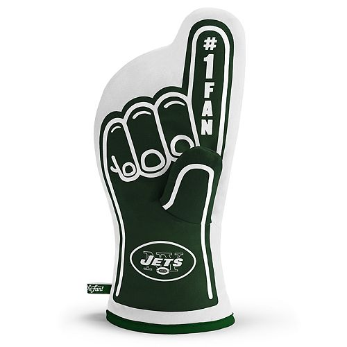 New York Jets Number One Fan Oven Mitt