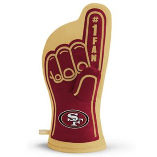 San Francisco 49ers Number One Fan Oven Mitt