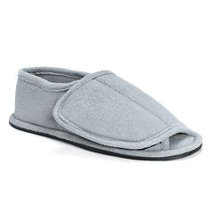 Men's MUK LUKS Adjustable Open-Toe Slippers