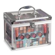 The Color Institute Acrylic Train Case Beauty Box