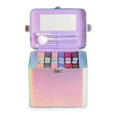 The Color Institute Train Case Mystic Beauty Palettes