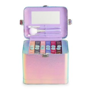 The Color Institute Train Case Mystic Beauty Palettes