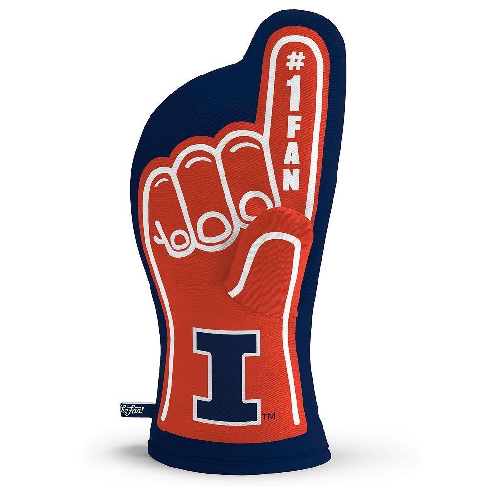 Illinois Fighting Illini Number One Fan Oven Mitt