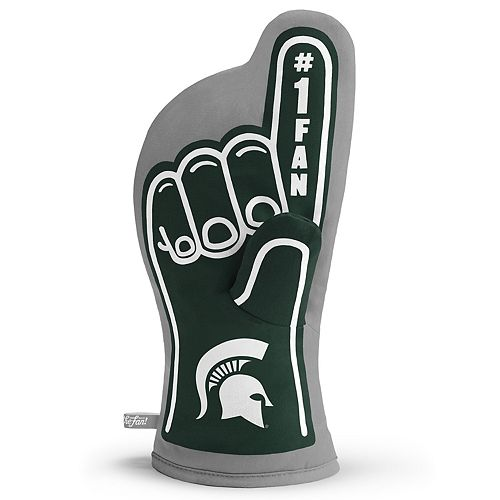 Michigan State Spartans Number One Fan Oven Mitt