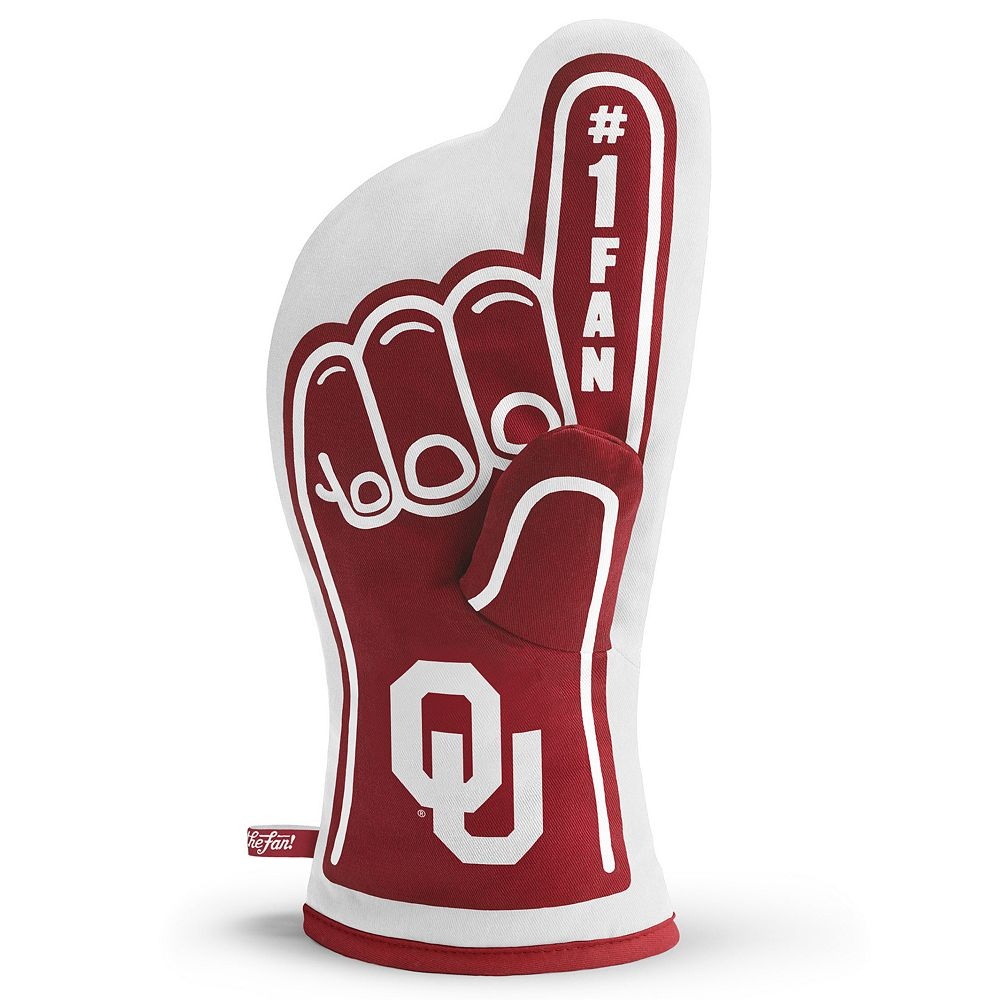 Oklahoma Sooners Number One Fan Oven Mitt