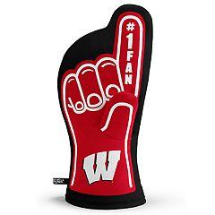 Wisconsin Badgers Number One Fan Oven Mitt