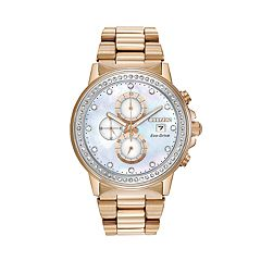 Citizen Eco-Drive Crystal Chronograph Watch - FB3003-51Y