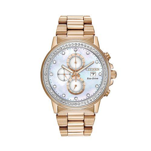 Citizen Eco-Drive Crystal Chronograph Watch - FB3003-51Y