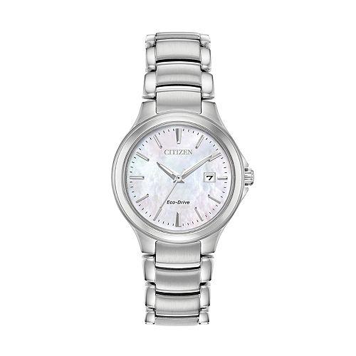 Citizen Eco-Drive Women's Stainless Steel Watch - EW2520-56Y
