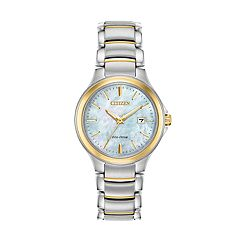 Citizen Eco-Drive Women's Two Tone Stainless Steel Watch - EW2524-55N