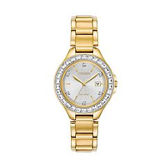 Citizen Eco-Drive Women's Crystal Accent Stainless Steel Watch - FE1192-58A