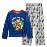 Boys 4-10 Super Mario Bros. 2-Piece Pajama Set