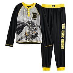 Boys 4-12 Batman Dark Knitght 2-Piece Boys Pajamas