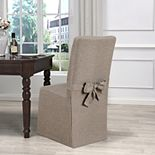 Kathy Ireland Evening Flannel Dining Room Chair Slipcover