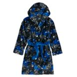 Boys 4-14 Cuddl Duds Astronaut Hooded Robe