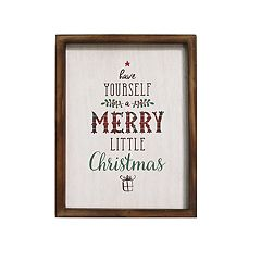 Stratton Home Decor 'Have Yourself A Merry' Christmas Wall Decor