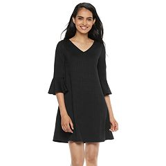 Petite Apt. 9® Bell-Sleeve A-Line Dress