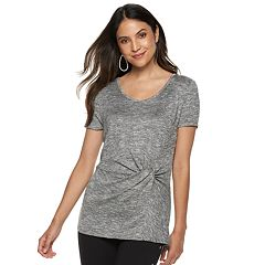 Women's Jennifer Lopez Twist Front Tee