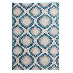 World Rug Gallery Madison Moroccan Contemporary Geometric Rug