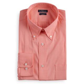 Big & Tall Croft & Barrow® Classic-Fit Easy Care Button-Down Collar Dress Shirt