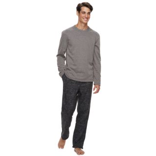 Men's Apt. 9® Cozy-Lined Crewneck Lounge Top