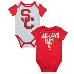 Baby USC Trojans Touchdown Bodysuit Set