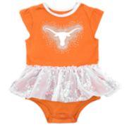Baby Girl Texas Longhorns Tutu Bodysuit