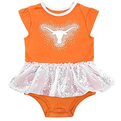 Baby Girl Texas Longhorns Tutu Bodysuit