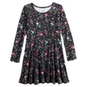 Disney's Minnie Mouse Girls 4-10 Printed Glittery Dress by Jumping Beans®