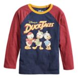 Disney's Duck Tales Boys 4-12 Retro Raglan Graphic Tee by Jumping Beans®