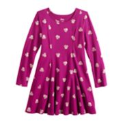 Disney's Minnie Mouse Girls 4-10 Glitter Print Dress by Jumping Beans®