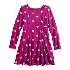 Disney's Minnie Mouse Girls 4-10 Glitter Print Dress by Jumping Beans®