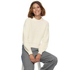 Women's POPSUGAR Colorblock Crewneck Sweater
