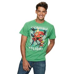 Men's Disney / Pixar Incredibles Christmas Tee