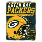 Green Bay Packers 40-Yard Dash Throw Blanket