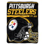 Pittsburgh Steelers 40-Yard Dash Throw Blanket